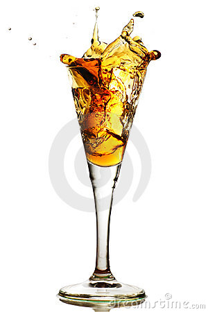 Free Splash In A Glass Stock Images - 4671944