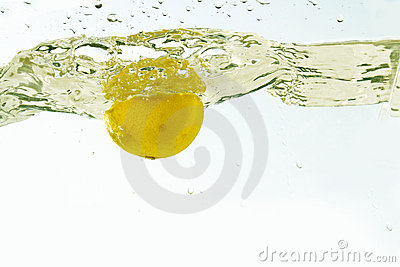 Splash lemon
