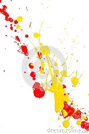 Free Splash Paint Stock Photography - 1567342