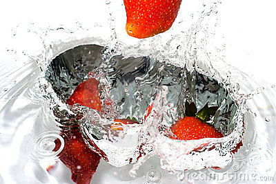 Splash-serie: strawberry