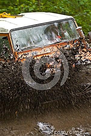 Splashing Dirt