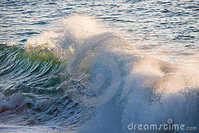 Splashing Waves