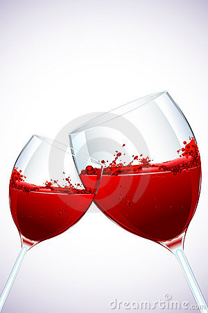 Splashing WIne