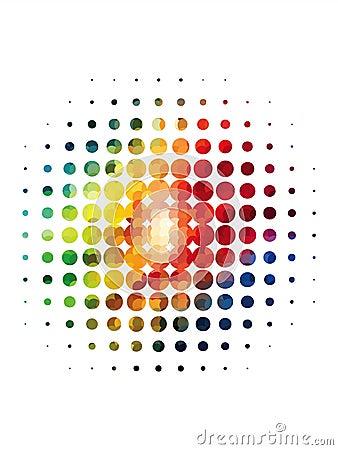 Splatter Halftone Dots