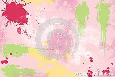 Splattered paint graffiti Textured Scrapbook Paper