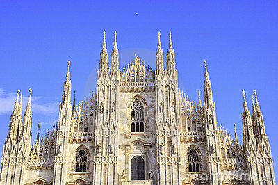 Splendid baslique of Milan