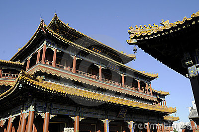 Splendid building of Chinese palace