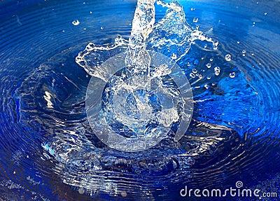 Splish splash into the water