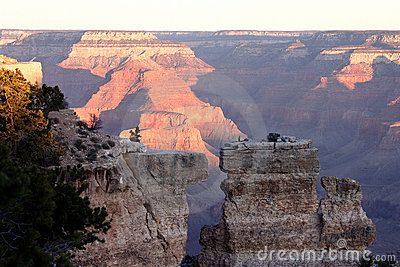 Split Canyon Wall