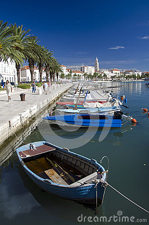 Split, Croatia Editorial Stock Photo