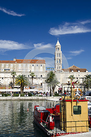 Split, Croatia Editorial Stock Image