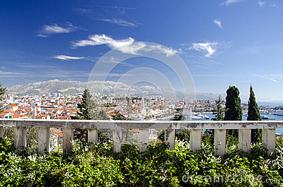 Split, Croatia Editorial Image