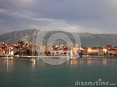 Split, Croatia Editorial Photo