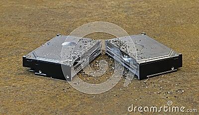 Split hard disk