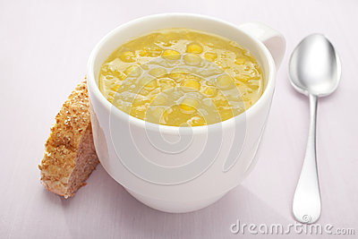 Split Pea Soup In A Mug