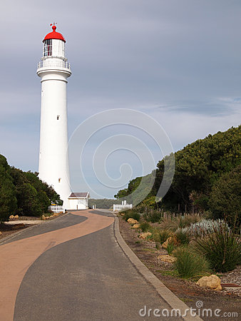 Free Split Point Lighthouse 2 Royalty Free Stock Photography - 36650707