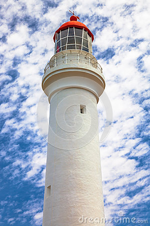 Free Split Point Lighthouse Royalty Free Stock Photography - 51444617