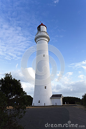 Free Split Point Lighthouse Stock Images - 54174544