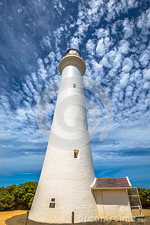 Free Split Point Lighthouse Victoria Royalty Free Stock Image - 51444376