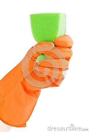Sponge to wash