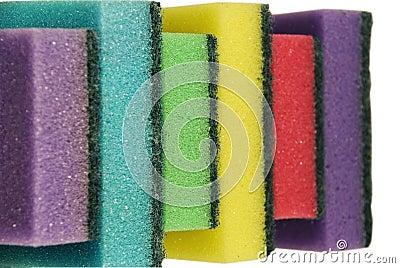 Sponge for ware washing