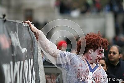 Spook / Horror Show Animator Editorial Photo