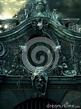 Spookhuis in Parijs