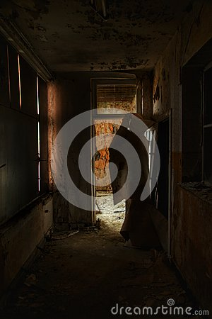 Free Spooky Hall In A Haunted House Royalty Free Stock Images - 90950979
