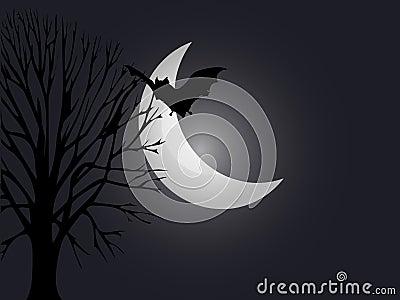 Spooky night Halloween