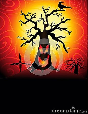 Spooky tree2