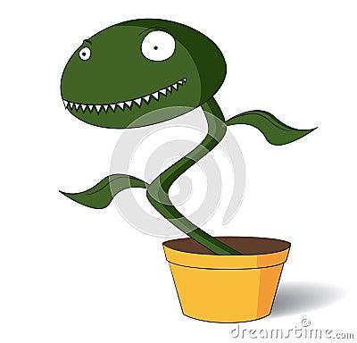 Spooky venus flytrap
