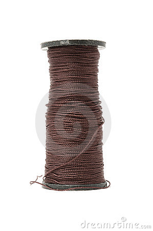 Free Spool Of Capron Thread Royalty Free Stock Photo - 17872745
