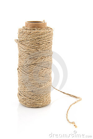 Spool sisal rope