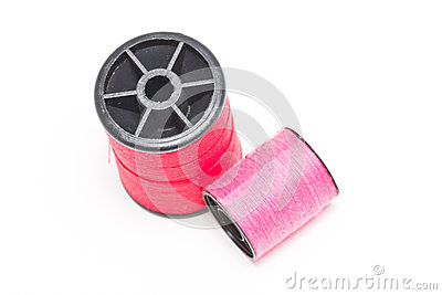 Spool Of Thread And Needle.