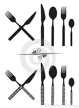 Free Spoon, Knife And Fork Stock Photography - 8452572
