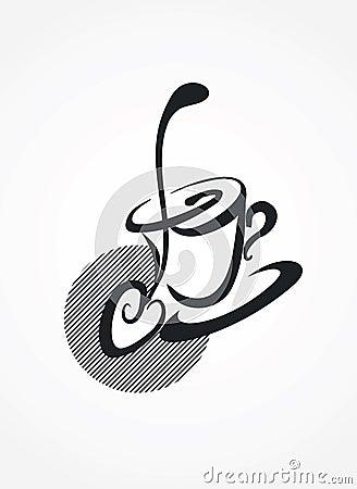 Spoon and mug