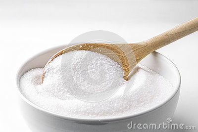 Spoon with sugar