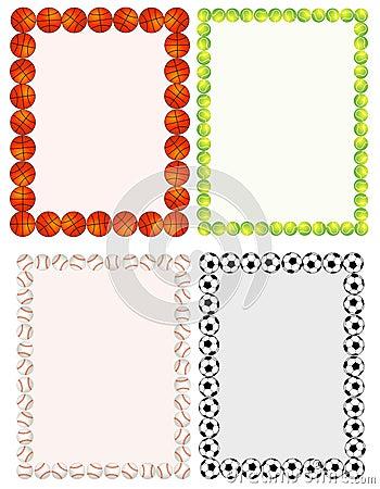 Free Sport Balls Royalty Free Stock Photos - 19549348