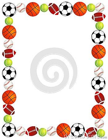 Free Sport Balls Royalty Free Stock Image - 19549556