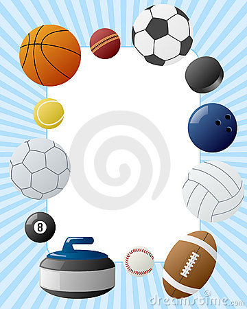 sport frame stock photos image 10692193