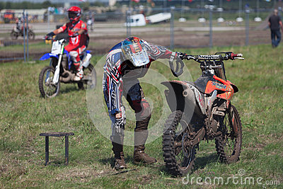 Sport bikes Editorial Photo