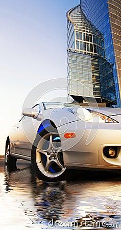 Free Sport Car Royalty Free Stock Image - 3211076