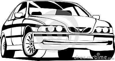 The sport car