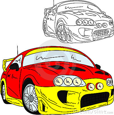 Sport car rally
