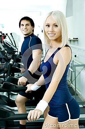 Sport couple