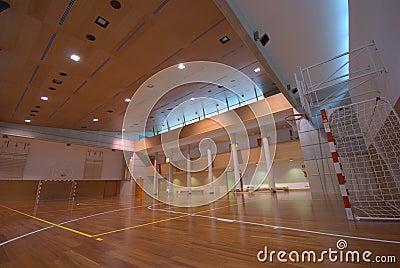 Sport court - indoor
