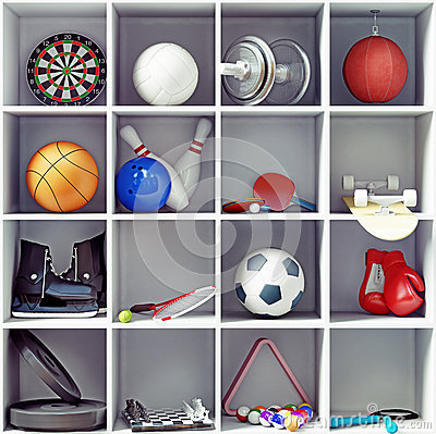 Free Sport Equipment Stock Photos - 38455663