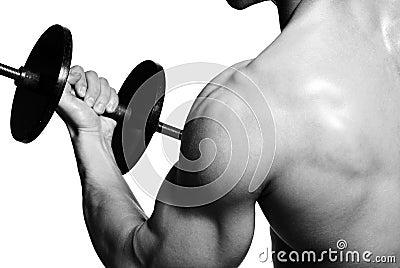Sport exercising...