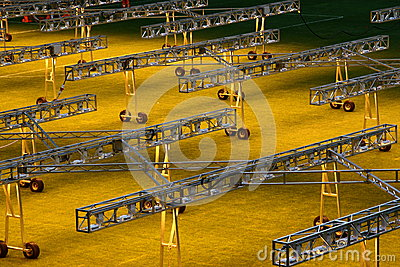 Picture of San Siro illuminated sports field