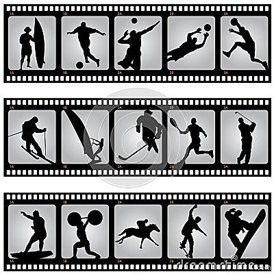 Sport filmstrip